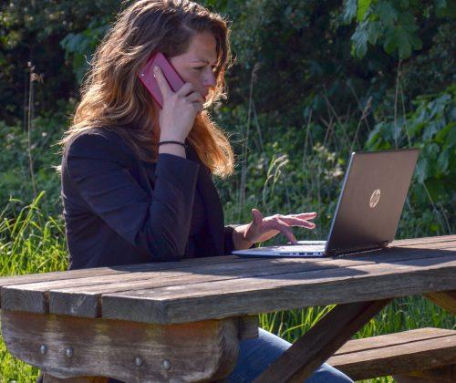 Buiten ondernemen online business